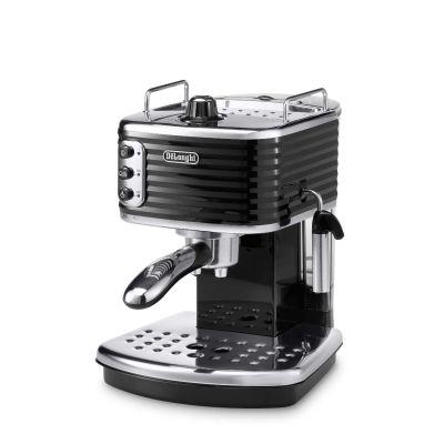 DeLonghi ECZ 351.BK Scultura Espressomaschine/Siebträger schwarz