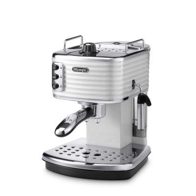 DeLonghi ECZ 351.W Scultura Espressomaschine/Siebträger weiß