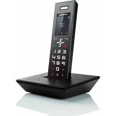 Grundig D750 schnurloses Festnetztelefon (analog), schwarz