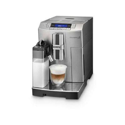 DeLonghi ECAM 28.466.MB PrimaDonna S Kaffeevollautomat Edelstahl-Schwarz