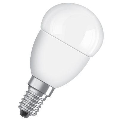 LED Star Classic P40 Tropfen 6W (40W) E14 matt warmweiß