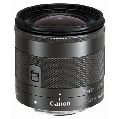 Canon EF-M 11-22mm 1:4.0-5.6 IS STM Weitwinkel Objektiv