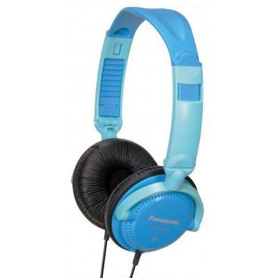 Panasonic RP-DJS200E-A Over-Ear DJ-Kopfhörer blau