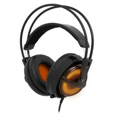 SteelSeries Siberia v2 Heat Orange Edition Schwarz/Orange Gaming Headset