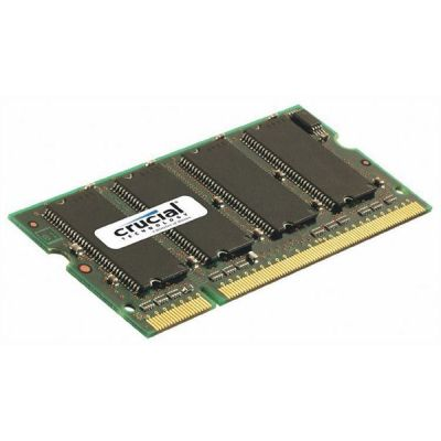 Crucial 1GB  DDR333 CL2.5 SO-DIMM RAM Notebookspeicher