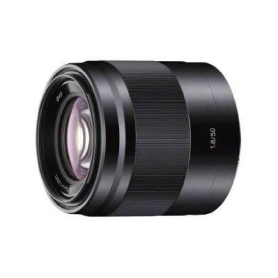 Sony E 50mm f/1.8 OSS Porträtobjektiv E-Mount (SEL-50F18)...