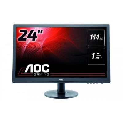 "AOC  g2460Fq 61cm (24"") Full HD Gaming Monitor VGA/DVI/HDMI/DP 1ms 144hz"