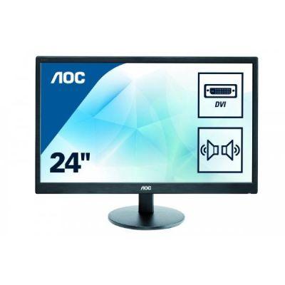 """AOC  e2470Swda 59,9 cm (24"""")Full HD Monitor VGA/DVI 5 ms int. Lautsprecher"""