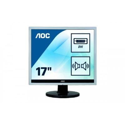 """AOC  e719Sda 43,2 cm (17"""") 5:4 Monitor VGA/DVI 5 ms 20Mio:1 Lautsprecher LED"""