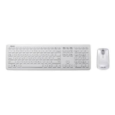 Asus ASUS W3000 Kabellose Tastatur mit Maus weiß