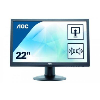 """AOC  e2260Pda 55,9 cm (22"""") 16:10 Monitor VGA/DVI 5 ms int. Lautsprecher Pivot"""