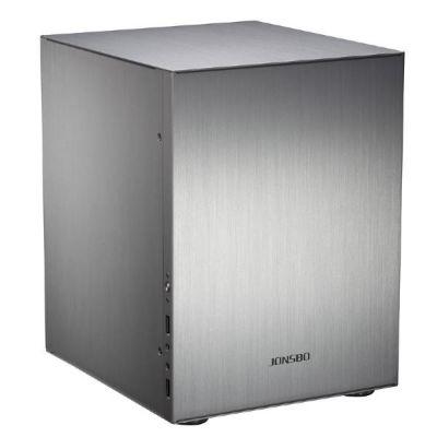 Cooltek  Jonsbo C2 Mini Tower Gehäuse ITX USB3.0 silber