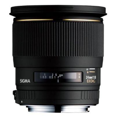 Sigma 24mm f/1.8 EX DG Makro Objektiv für Canon