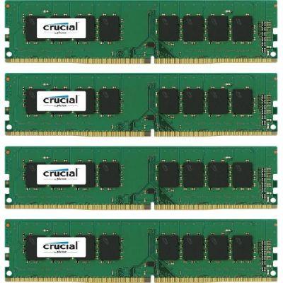 Crucial 16GB (4x4GB)  DDR4-2133 CL15 (15-15-15) RAM - Kit