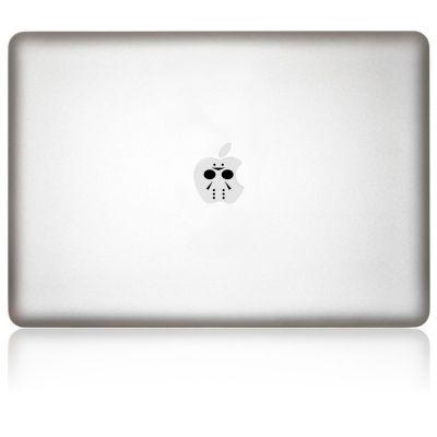 Apfelkleber Jason Aufkleber-Folie für MacBook schwarz