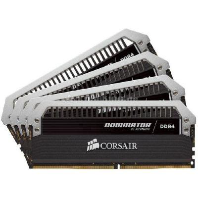 Corsair 16GB (4x4GB)  Dominator Platinum DDR4-2666 CL15 (15-17-17-35) DIMM-Kit