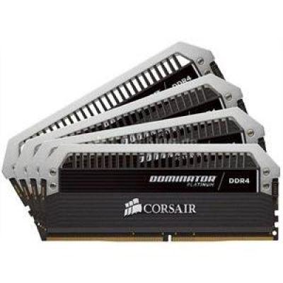 Corsair 16GB (4x4GB)  Dominator Platinum DDR4-2800 CL16 (16-18-18-36) DIMM-Kit