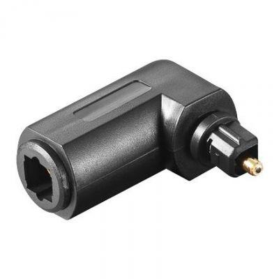 Good Connections  Adapter Toslink Buchse -Toslink Stecker gewinkelt schwarz