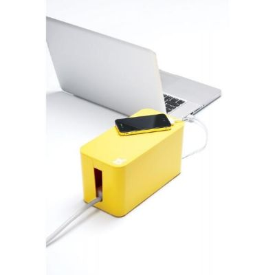 Bluelounge  CableBox Mini gelb