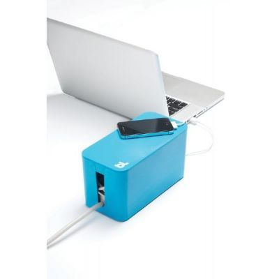 Bluelounge  CableBox Mini blau