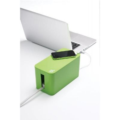 Bluelounge  CableBox Mini grün
