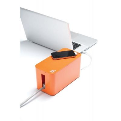 Bluelounge  CableBox Mini orange