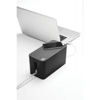 Bluelounge CableBox Mini schwarz