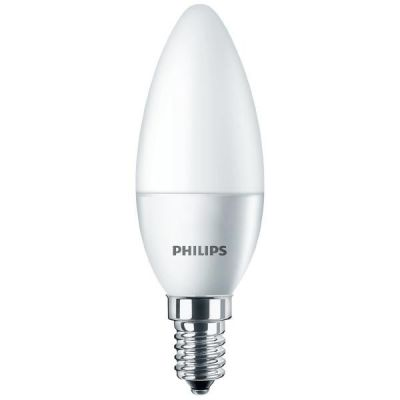 Philips E14 4W 827 LED-Kerzenlampe, matt
