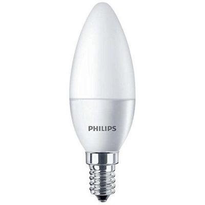 Philips E14 5,5W 827 LED-Kerzenlampe, matt