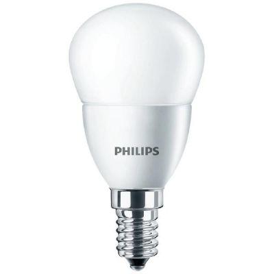 Philips E14 4W 827 LED-Tropfenlampe, matt