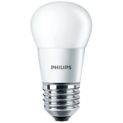 Philips E27 4W 827 LED-Tropfenlampe, matt
