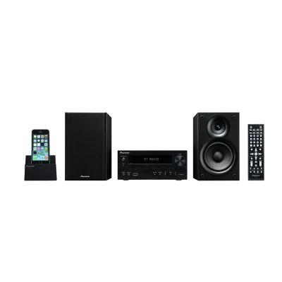 .Pioneer X-HM32V-K Micro HiFi-System mit USB, HDMI, CD+DVD, Bluetooth, schwarz