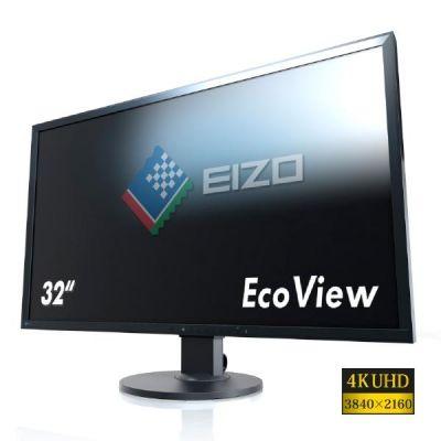 "EIZO  EV3237-BK 80 cm (31,5"") 4K UHD DVI/DP/HDMI 5 ms Pivot IPS Monitor"
