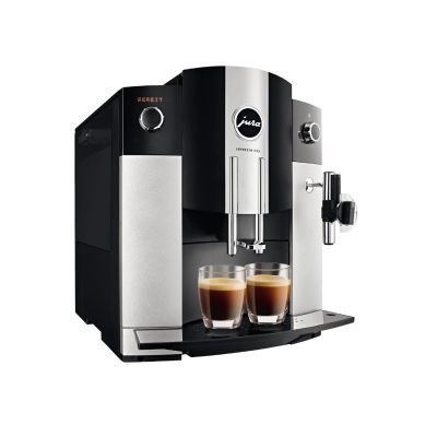 Jura JURA Impressa C65 Kaffeevollautomat Platin Inkl. 2 Pck. Lavazza Classico