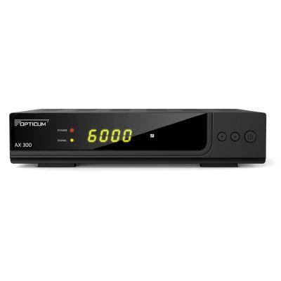 Opticum HD AX 300 PVR HDTV-Satellitenreceiver (PVR ready, Full HD 1080p, HDMI) - Preisvergleich