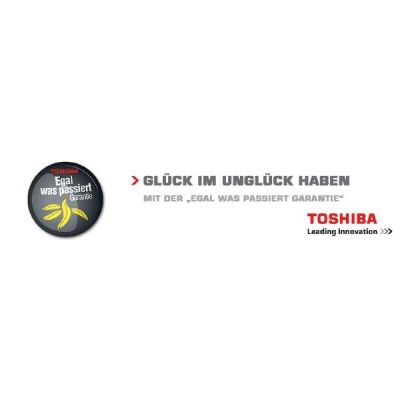"""Toshiba 1 Jahr """"Egal was passiert"""" Garantie in Europa NMW101EU-V"""