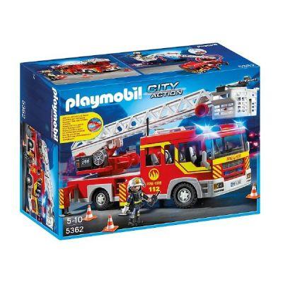 Feuerwehr-Leiterfahrzeug mit Licht und Sound (5362)