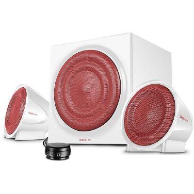 SPEEDLINK JUGGER 2.1 Sound System mit Subwoofer 35W (RMS) weiß