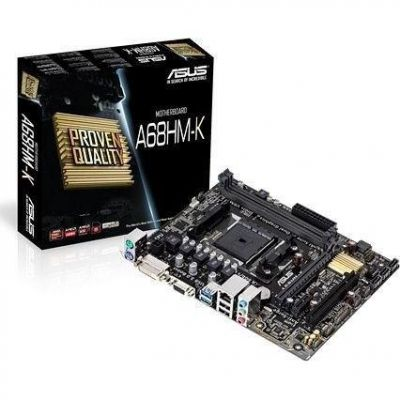 Asus A68HM-K, Mainboard