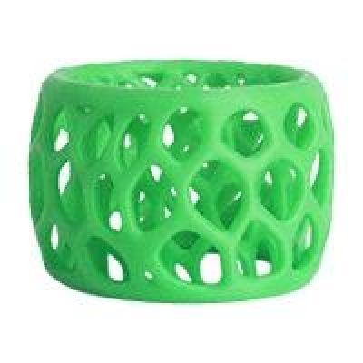 3D Systems  391140 Cube3 Filament Cartridge ABS Fluoreszierendes Neongrün