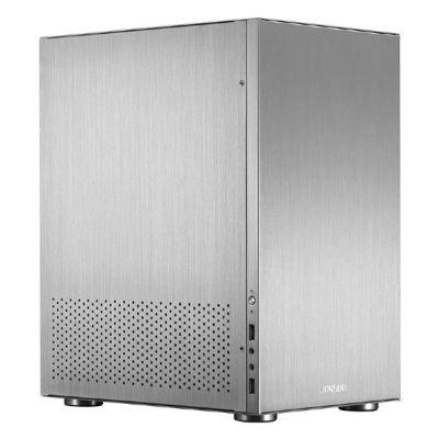 Cooltek  Jonsbo C3 Mini Tower Gehäuse ITX/mATX USB3.0 silber
