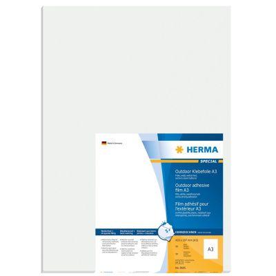HERMA 8695 A3 Outdoor Klebefolie 297x420 mm weiß extrem stark haftend 50Stk. - Preisvergleich