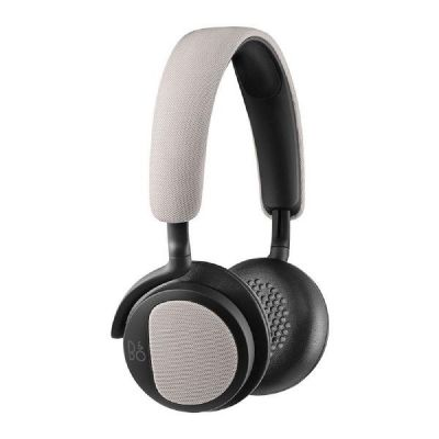 Bang Olufsen B&O PLAY BeoPlay H2 On Ear Kopfhörer mit Mikrofon silver cloud