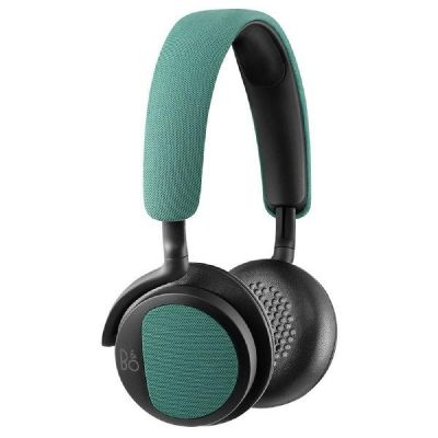 Bang Olufsen B&O PLAY BeoPlay H2 On Ear Kopfhörer mit Mikrofon green/grün