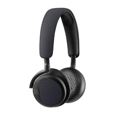 Bang Olufsen B&O PLAY BeoPlay H2 On Ear Kopfhörer mit Mikrofon carbon Blue