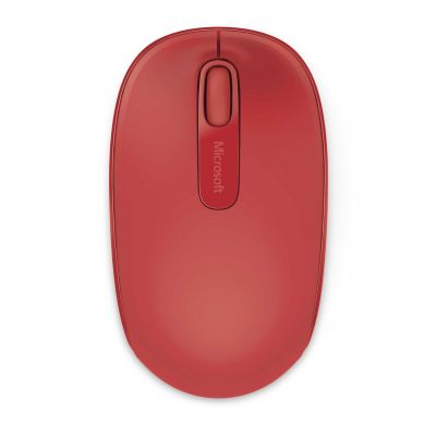 Microsoft Wireless Mobile Mouse 1850 feuerrot