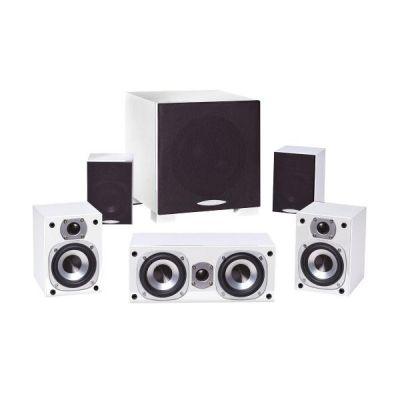 ARGENTUM 4000 5.1 Lautsprecher-System weiß