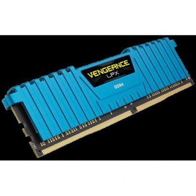 Corsair 16GB (4x4GB)  Vengeance LPX Blue DDR4-2400 RAM CL14 (14-16-16-31)
