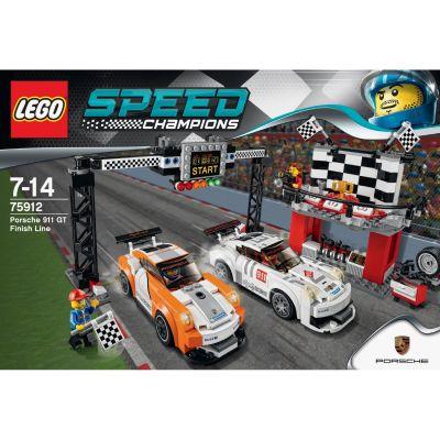 LEGO Speed – Porsche 911 GT Ziellinie (75912)