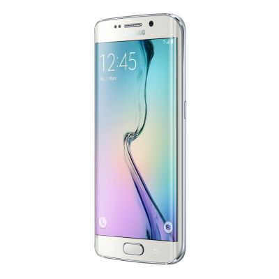 Samsung GALAXY S6 Edge white-pearl G925F 32 GB Android Smartphone